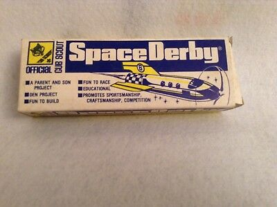 Vintage Official Cub Scout Space derby