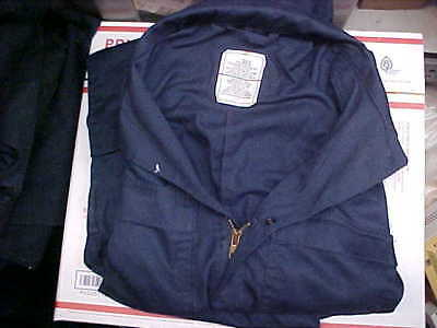 Military NAVY USN US Naval Sea Cadet Blue Coveralls Utility 36S loc#n58