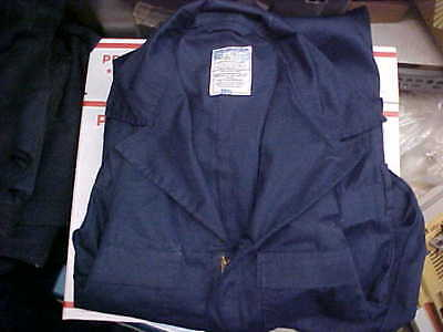 Military NAVY USN US Naval Sea Cadet Blue Coveralls Utility 38L loc#n59