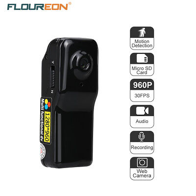 FLOUREON DVR Sport Camcorder Video/Audio/Capture Detection Recorder PC Camera