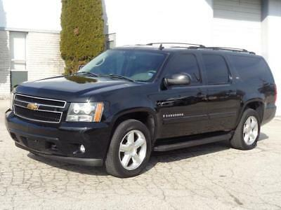 2007 Chevrolet Suburban 1500 LTZ 4WD 4X4 FULLY LOADED! 2ND-OWNER! NO RESERVE NAVI 3RD ROW SEAT SUNROOF BACKUP CAM REMOTE START BLUETOOTH ONSTAR