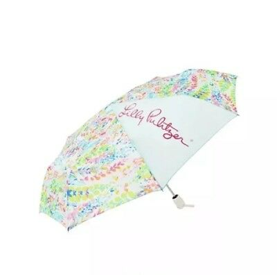 NWT-Lilly Pulitzer Umbrella in Multi Catch The Wave-GWP