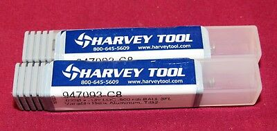 Harvey Tool Variable Helix End Mills for Aluminum Alloys 2 Pack 968747-C8