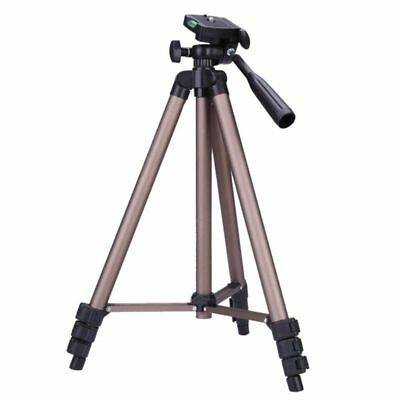 5X(WF WT3130 Protable Lightweight Aluminum Camera Tripod with Rocker Arm Carry B