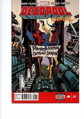 Marvel Deadpool Annual NO.1 1st Print Marvel Comic