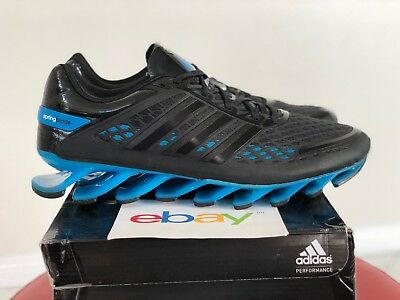 6ad2e0fbeefe NEW Mens Adidas Springblade Razor BLACK   BLUE Sizes 7.5-13 runner G97686  ...