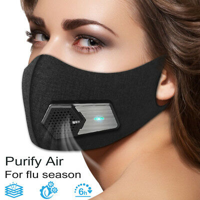 New Fresh Air Supply Smart Electric Mask Air Purifying Mask Anti Pollution Mask