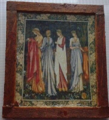 Dolls House Gorgeous Faux Tapestry (Ladies)