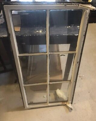 Old metal cased window Circa 1938 to 1941