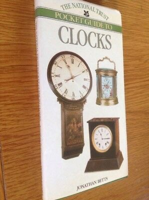 The National Trust Pocket Guide To CLOCKS 128 Page Hardback Book