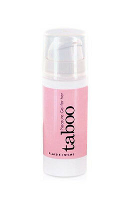 TABOO PLEASURE GEL FOR HER 30ML Gel d Excitation pour Femme RUF