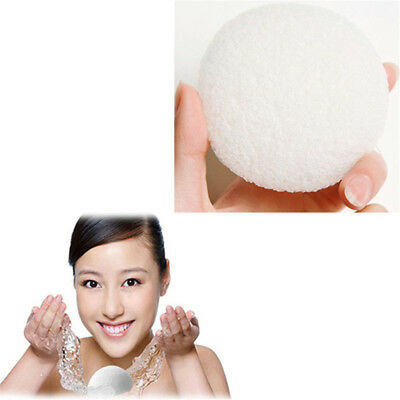 Hemispherical Natural Facial Cleansing Powder Puff Face Cleaning Beauty Sponge