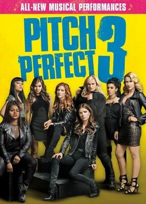 Pitch Perfect 3 (DVD, 2018) - New!
