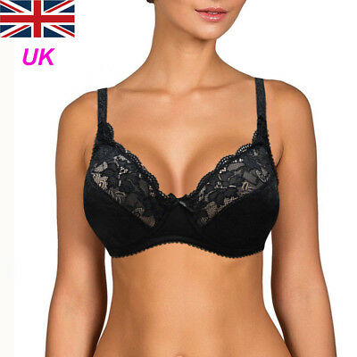 New Women's Full Cup Ultrathin Support underwire Non-Padded Soft Plus Size Bras