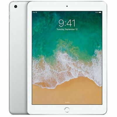 Neuf Apple Ipad 32Gb 9.7 Inch Wi-Fi 2018 Ver Tablet Argent Silver