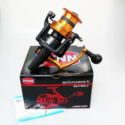 PENN SPINFISHER V SSV7500LC Spinning Reel & Chemical Light
