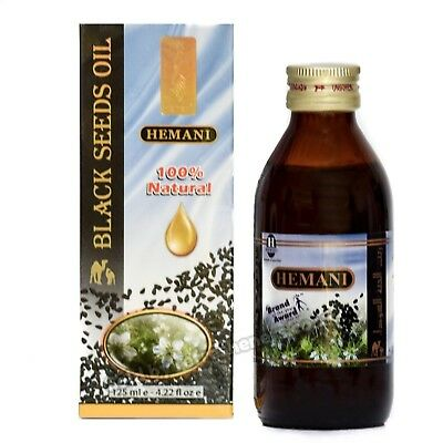 **CHEAPEST** Hemani Black Seed/Nigella Sativa Oil 100% Pure Kolanji Oil 125ml