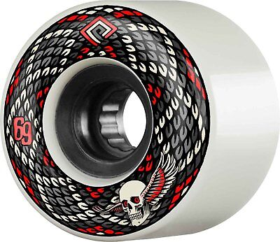 Powell Peralta - Snakes White 69MM 75A ATF Skateboard Wheels