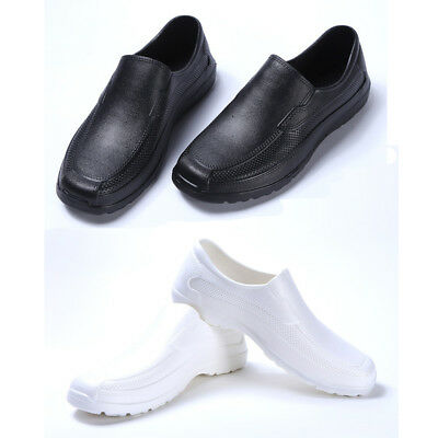 Men Chef Shoes In Kitchen Nonslip Safety Shoes Oil & Water Proof For Cook Newest