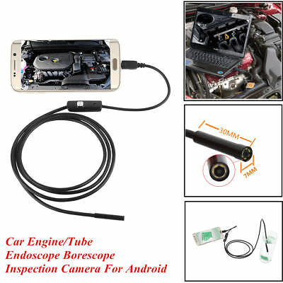 HD 720P 7MM Waterproof Camera Inspection Endoscope for Samsung S7/S7+ Edge S6 S5