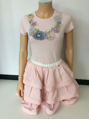 Miss Grant Girls Outfit, Size 44, Age 14, Skirt & Top, Pink, Immaculate
