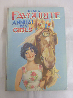 Dean's Favourite Annual For Girls - Dean & Son Ltd. (Hardback, 1961)