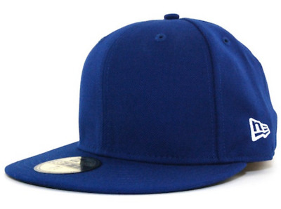 New Era Original Basic Blue 59FIFTY Fitted - All Sizes (Y220)