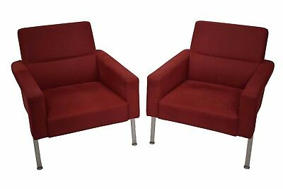 Mid century pair of armchairs by Arne Vodder, model AV56, 1956, Nielaus
