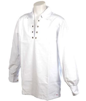 Gents Deluxe Embroidered Ghillie Shirt White