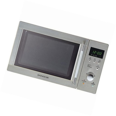 DAEWOO KOR6N7RS Touch Control Solo Microwave Oven, 20 Litre, 800 W
