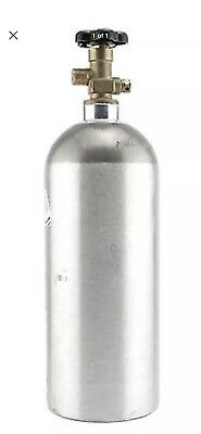 5 lb. Aluminum CO2 Cylinder Tank Reconditioned - Fresh Hydro Test! CGA320 Valve