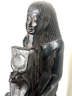 ANCIENT EGYPT EGYPTIAN ANTIQUE Kneeling Statue Statue dating to 1473-1458 BC