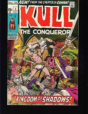 Kull -The Conqueror #2 1971 Vg+  Marvel ''3Rd Kull App.''  Stan Lee/ Roy Thomas
