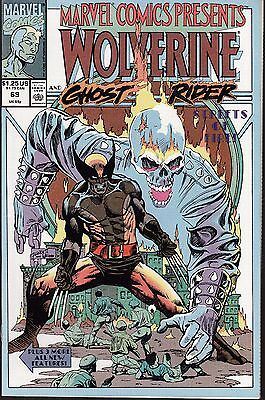 Marvel Comics Presents  #69 1991 Vf/nm  Wolverine/ Ghost Rider  -Streets Of Fire
