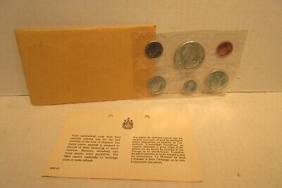 1867-1967 Centennial Silver Canadian Proof Like Coin Set Canada