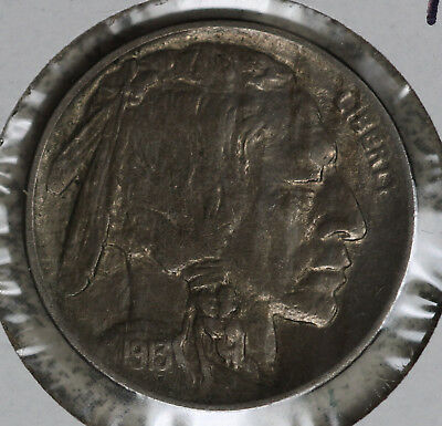 Almost Uncirculated/Slider Better Date 1913 Type 1 Buffalo Nickel