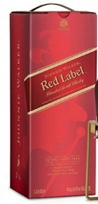 Johnnie Walker Red Label 3L with Cradle (RARE)