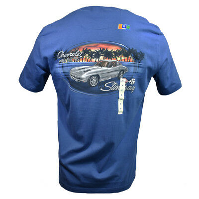 1963 Stingray Men's T-shirt -Chevrolet 427 Island Shores -Fathers Day Gift