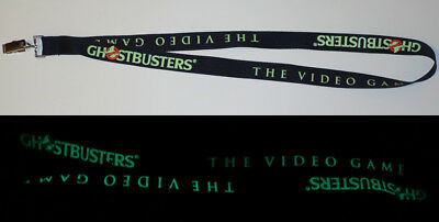 GhostBusters GLOW IN THE DARK LANYARD - Ghost Brothers The Video Game