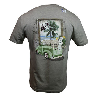 """PCH Men's T-shirt """"Island Shores Pacific Coast Highway Cruising Fathers Day Gift"""