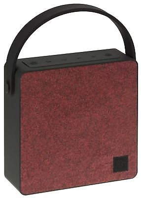 Kit Sound Flair Universal Wireless Rechargeable Speaker with Bluetooth - Red
