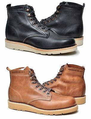 9df57b6292b WOLVERINE 1000 MILE Louis Wedge Leather Lace Up Ankle Boots msrp ...