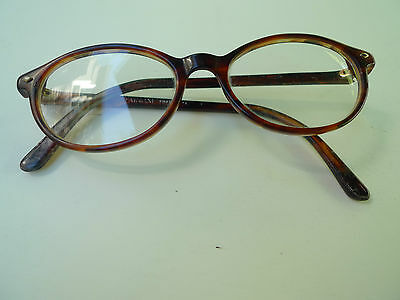Giorgio Armani- Eyeglasses With Rx Lenses-Faux Tortoise Shell-Made In Italy