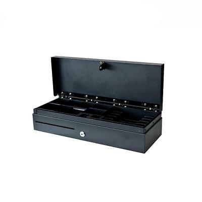 Cashier drawer with 2 position lock