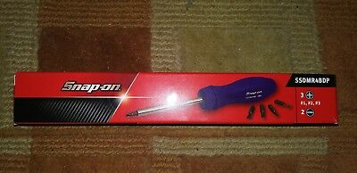 Snap-On NEW 2018 PURPLE Ratcheting Standard Screwdriver SSDMR4BDP SHIPS FREE