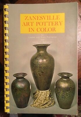 Zanesville Art Pottery in Color by Louise and Evan Purviance - 1968