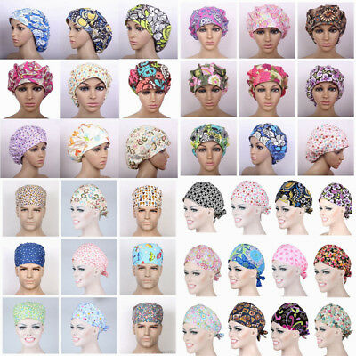 NEW Women/Mens Printing Cap Doctor/Nurse Scrub Surgery Medical Surgical Hat/Cap
