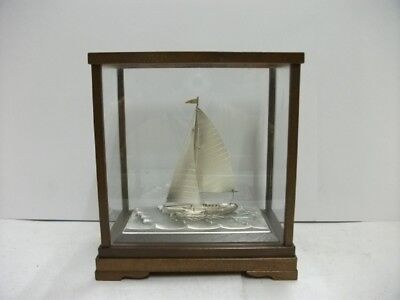 The sailboat of Silver960 of Japan. #34g/ 1.20oz.TAKEHIKO's work.
