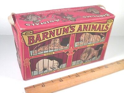 Barnum's Animal Crackers GRAPHIC BOX - National Biscuit Uneeda Bakers - RARE