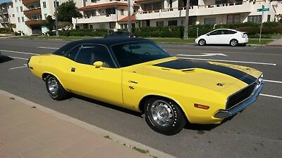 1970 Dodge Challenger RT/SE 1970 Dodge Challenger RT/SE 440 Magnum 4-Speed Dana , All #'s match